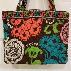 Vera Bradley Bags - Vera Bradley Small Tote Handbag in Lola - Retired